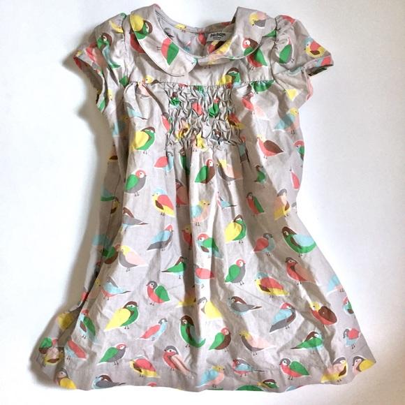 Baby Boden Other - Baby Boden • bird print 100% cotton toddler dress